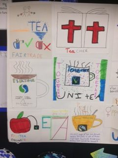 Fairtrade tea poster