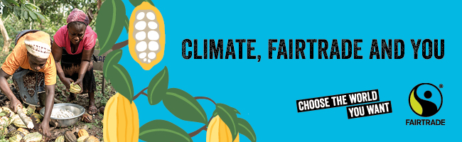 image of fruits connecting fairtrade and climate justice