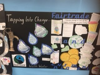 Fairtrade and water poster